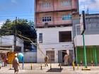 Incêndio atinge sexto andar de prédio em Santo Amaro, no Centro do Recife
