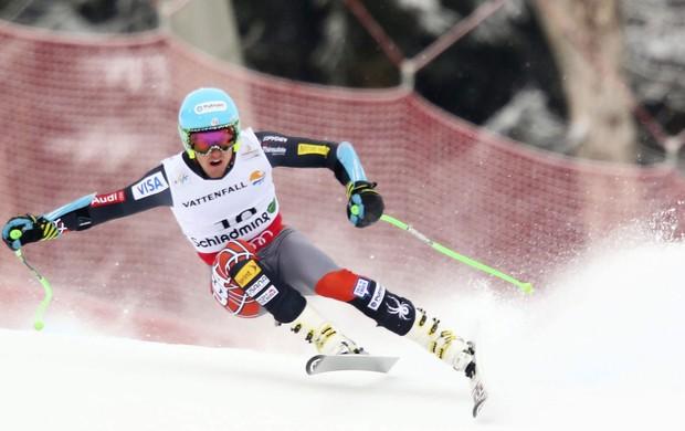 Ted Ligety campeão de super-G no Mundial de esqui (Foto: Agência EFE)