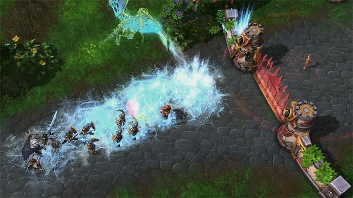 Heroes of the Storm tem belos gráficos (Foto: Divulgação)