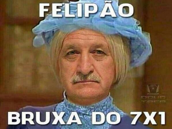 Zoação Felipão Alemanha 7 x 1 Brasil