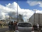 Moradores do IAPI fazem 2º protesto por morte de menina de 9 anos na BA