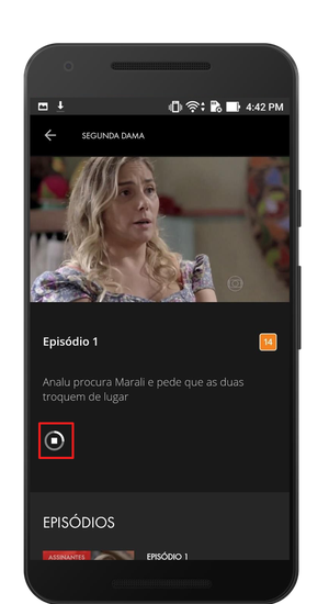Baixar vídeo Globoplay (Foto: Globoplay)