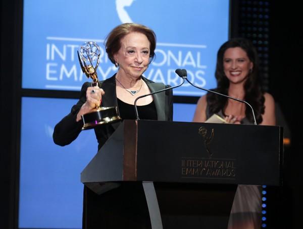 Fernanda Montenegro foi eleita Melhor Atriz da TV mundial na 41ª edição do Emmy Internacional. (Foto: divulgação)