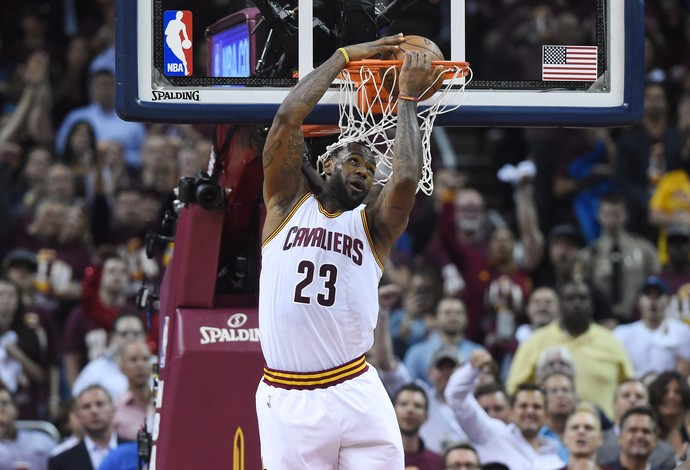 LeBron James Cleveland Cavaliers NBA final (Foto: Reuters)