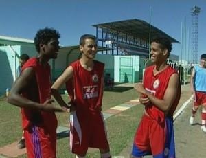 Ricardo (esquerda), Felipe (meio), Renã (direita) (Foto: Reprodução/TV Rondônia)