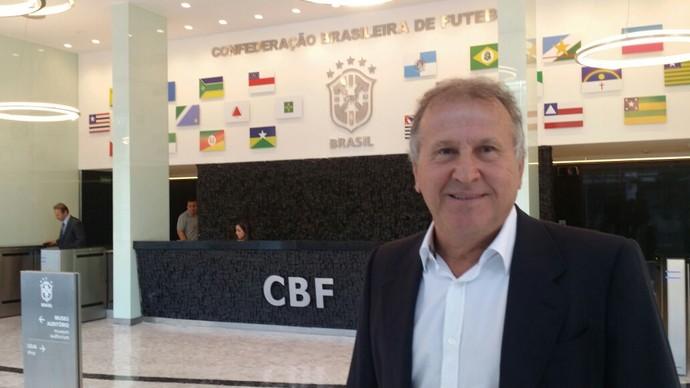 Zico CBF (Foto: Márcio Iannacca)