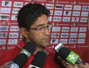 Sérgio China, Campinense (Foto: Reprodução / TV Paraíba)