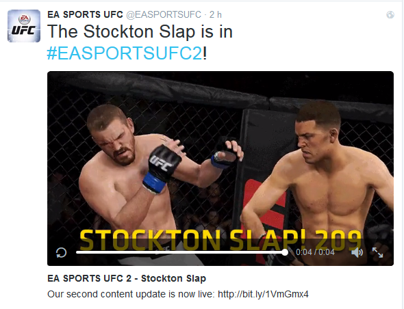 Twitter EA Sports UFC Nate Diaz
