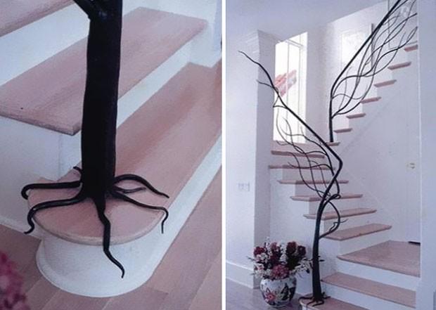Ideias de escadas (Foto: Architetture del Ferro / Divulgação)