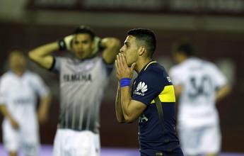 Atual campeão, Lanús bate o Boca Juniors na estreia do Argentino