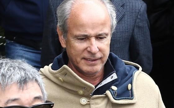Otávio Marques de Azevedo, presidente da Andrade Gutierrez, em foto de junho de 2015 (Foto: Geraldo Bubniak / Parceiro / Agência O Globo)