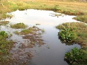 trabalho conscientização Santo Antônio do Monte desperdício racionamento água (Foto: Reprodução/TV Integração)
