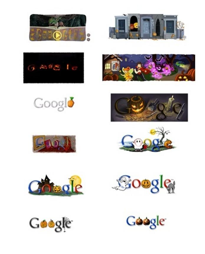 O Google comemora o Dia das Bruxas com Doodle desde 1999 (Foto: Reprodução/Google)