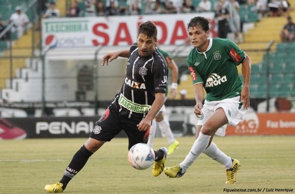Chapecoense e Figueirense se enfrentam a partir das 22h (Foto: Luiz Henrique / divulgação FFC)