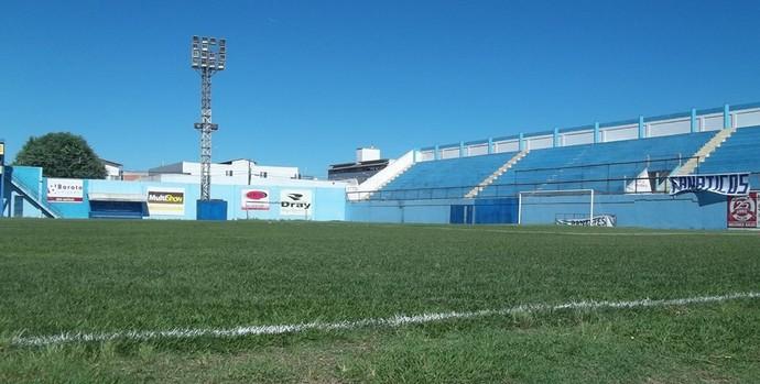 Estádio Sernamby, em São Mateus (Foto: Joilson Barbosa)