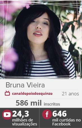 A youtuber Bruna Vieira (Foto: Divulgação)