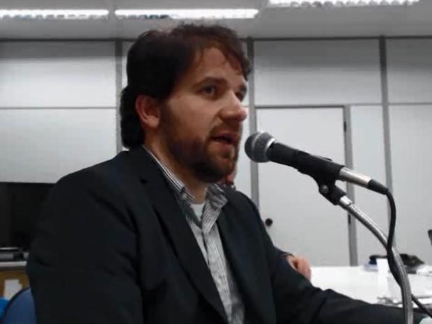 Luiz Argôlo depôs como réu da Operação Lava Jato nesta quinta (10) (Foto: Reprodução)