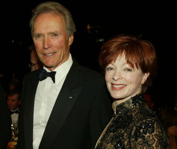 Clint Eastwood e Frances Fisher, pais de Francesca Fisher-Eastwood (Foto: Getty Images)