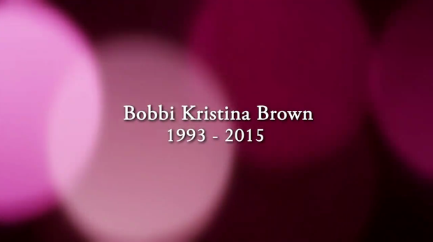 Tributo a Bobbi Kristina (Foto: Reprodução)