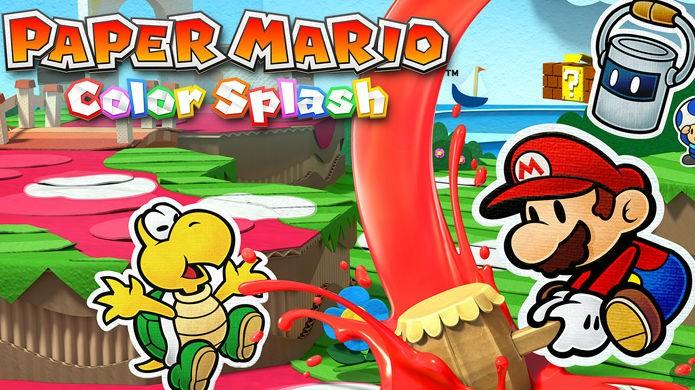 Melhores jogos de 2016 para Wii U: Paper Mario Color Splash (Foto: Divulgação/Nintendo)