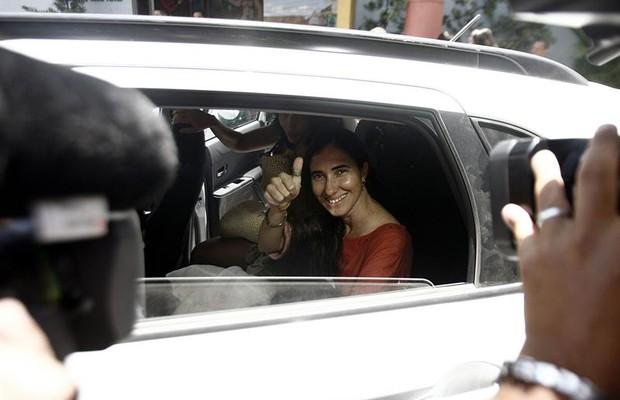 Yoani Sánchez no Brasil (Foto: Agência EFE)