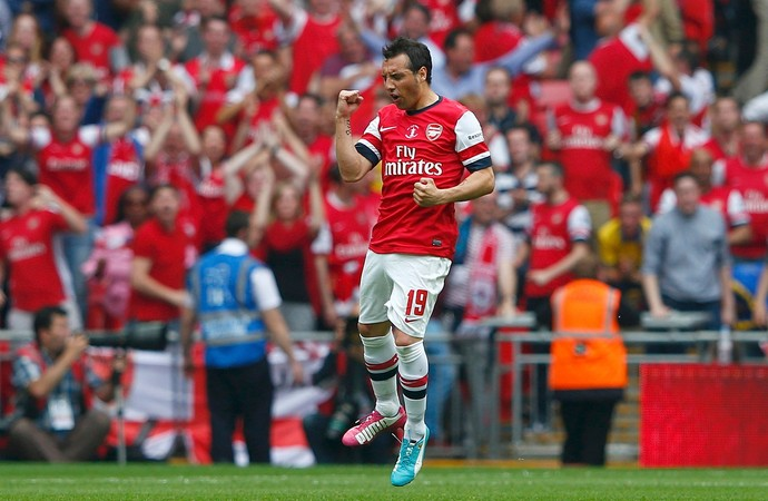 Santi Cazorla Hull City x Arsenal (Foto: Reuters)