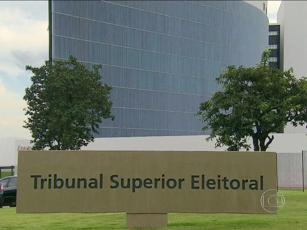 Tribunal Superior Eleitoral (TSE)  (Foto: jornal nacional)