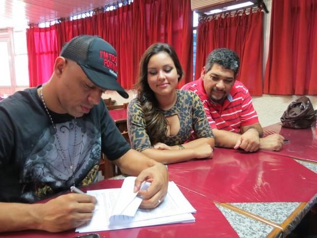MC Koringa, Mali e Alex Bolinha (Foto: Divulgação/Divulgação)