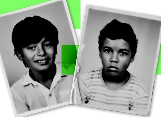 Giovanni Ferreira Pinto, aos 11 anos, e Dirceu Manuel de Andrade, aos 11 anos (Foto: Rogério Casimiro (ÉPOCA))