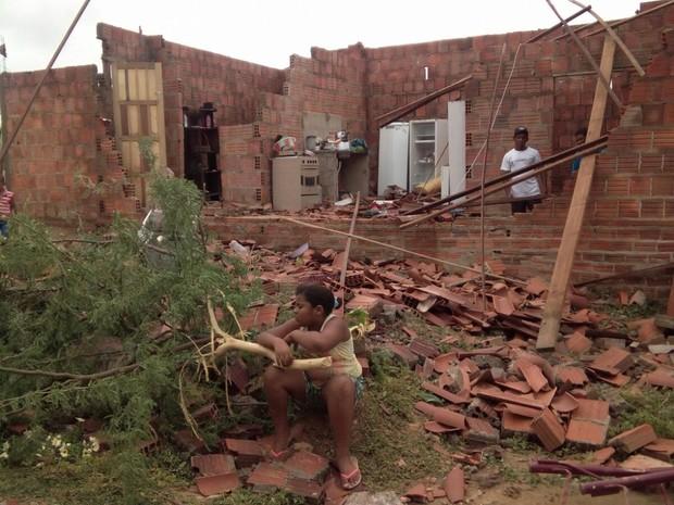 Telhado do Ceasa Caiu (Foto: Carlos José Silvério/Arquivo pessoal)