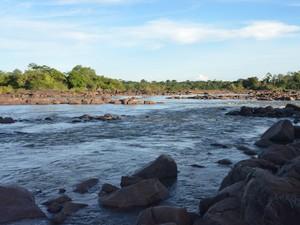 Corredeiras do Bem-Querer situadas no município de Caracaraí, sul de Roraima (Foto: Bruna Cássia/G1)