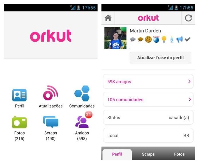 Aplicativo da rede social versão Android (Foto: Divulgação/Google Play)