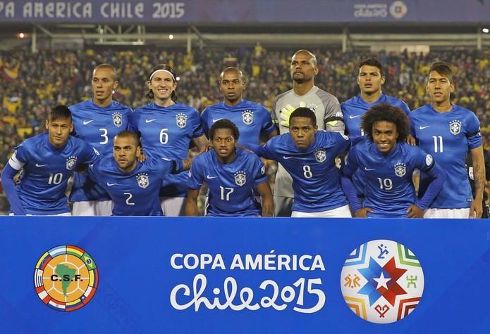 Quartas de final da Copa América 2015, Brasil x Paraguai, é homenageada em Doodle do Google (Foto: Divulgação/CBF)