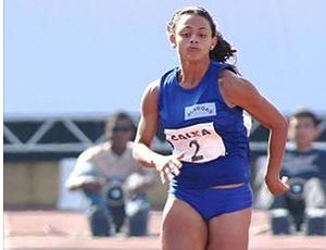 Bruna Jéssica Farias, alagoana nos 4x100 do Pan (Foto: Reprodução Facebook)