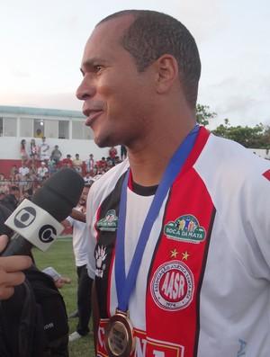 Aloisio Chulapa, campeoão alagoano da segunda divisão (Foto: Leonardo Freire/GLOBOESPORTE.COM)