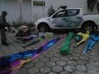 Polícia fecha fábrica clandestina e apreende cinco balões em Caçapava