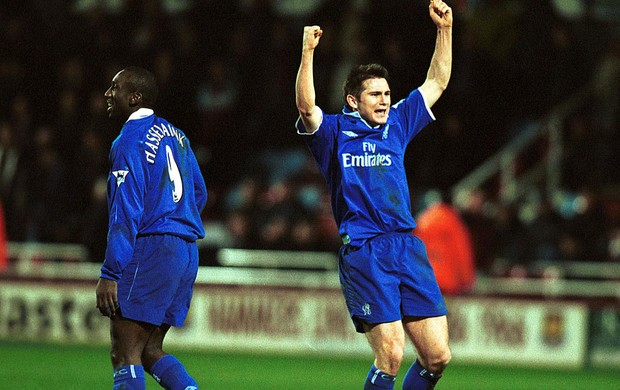 lampard chelsea 2002 (Foto: Agência Getty Images)