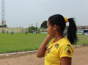 Viviane Andrade, jogadora do Genus  (Foto: Daniele Lira)