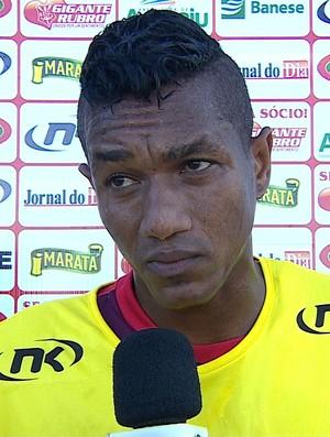 Meia Vágner Rosa, Sergipe (Foto: Reprodução/TVSergipe)
