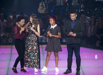 Ivete agradece pela Batalha de Franciele Fernanda, Isabelle Kaffer e Kailane Muniz: 'Obrigada pelo espetáculo'