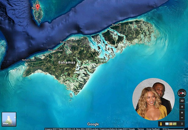 Jay Z e Beyoncé – The Bahamas (Foto: Google / Getty Images)