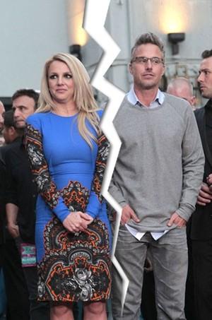 Britney Spears e Jason Trawick (Foto: Mario Anzuoni/ Reuters/ Agência)