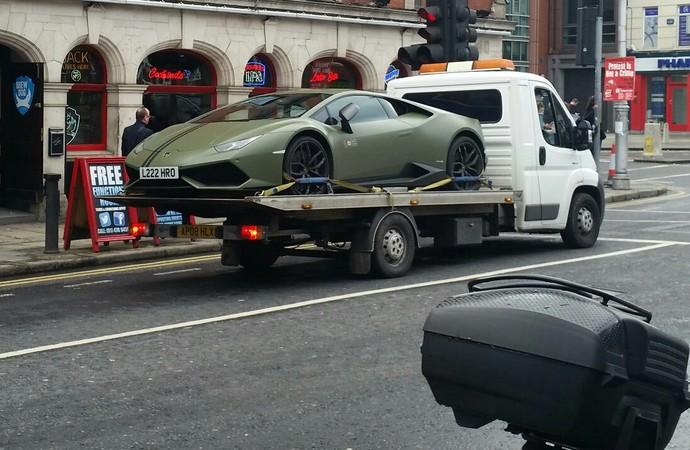 Lamborghini Conor McGregor (Foto: Reprodução / Twitter)