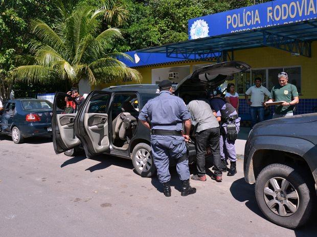 Operação foi realziada em 10 cidades do Amazonas  (Foto: Felipe Rodrigues/SSP-AM)