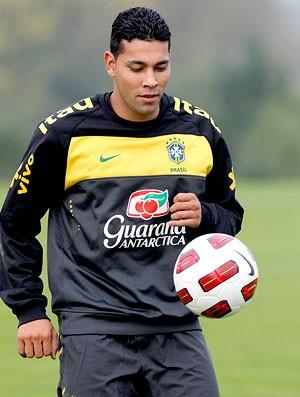Treino da Seleção brasileira - André Santos (Foto: Mowa Press)
