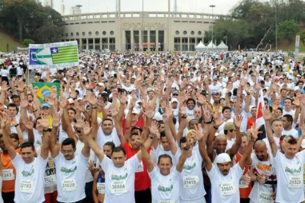 Corrida e Caminhada Esperança 2012 (Foto: Divulgação)