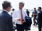 Secretário de Estado dos EUA chega a Israel para missão de paz
