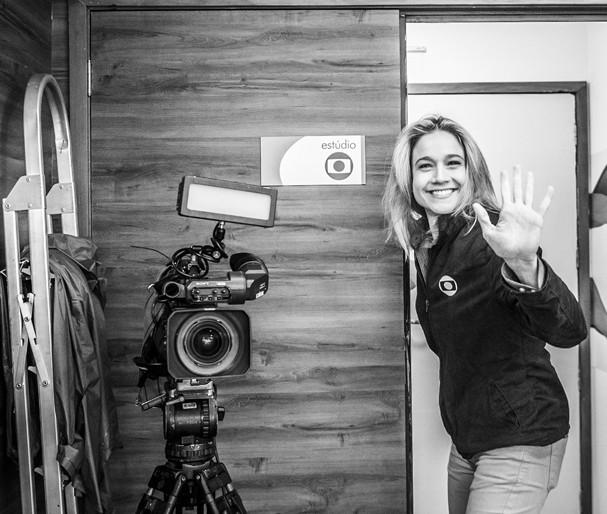 Olimpiadas Rio 2016 - O dia de trabalho de Fernanda Gentil (Foto: Globo)