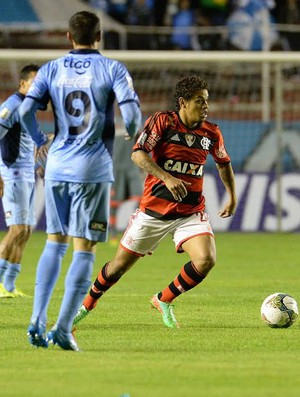 Carlos Eduardo, Bolivar x Flamengo (Foto: Alexandre Vidal/Fla Imagem)