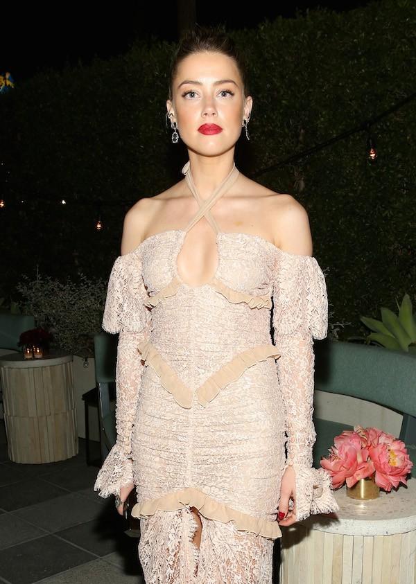 A modelo e atriz Amber Heard (Foto: Getty Images)